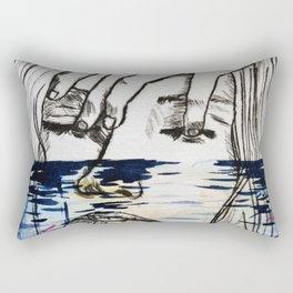 The sea and the sadness Rectangular Pillow
