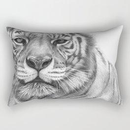 White Tigress  G2013-071 Rectangular Pillow