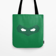 Green Lantern superhero Tote Bag