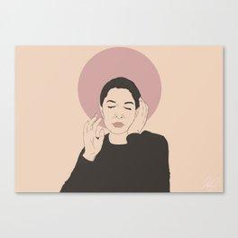Mother Marina (Beige) Canvas Print