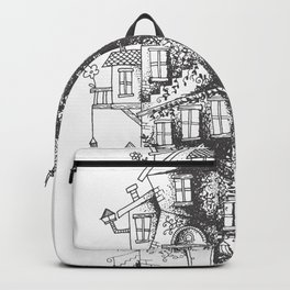 a humble residence Backpack