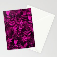 Abstract Botanical Garden III Stationery Cards