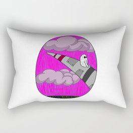 Nervous Flyer Rectangular Pillow