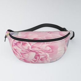 Pale Pink Carnations Fanny Pack