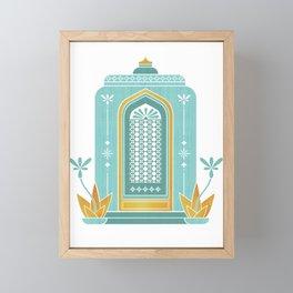 Moroccan Doorway Framed Mini Art Print
