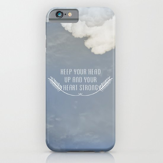 Keep Your Head Up iPhone & iPod Case