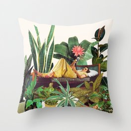 TERRARIUM Throw Pillow