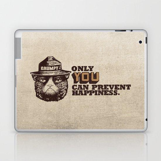 Grumpy PSA Laptop & iPad Skin