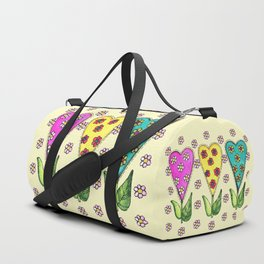 Sweet Hearts Duffle Bag