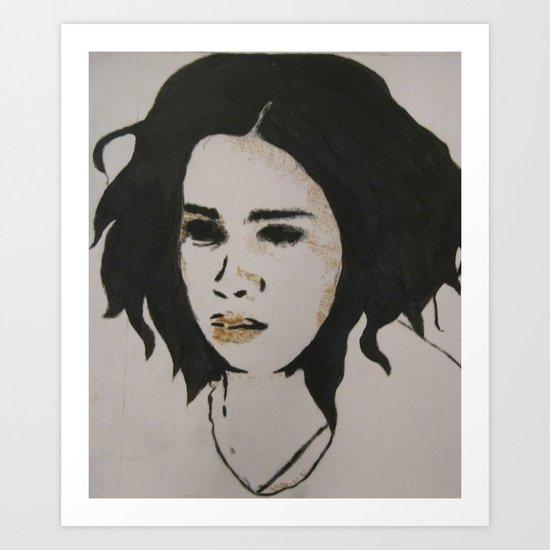stephanie one Art Print