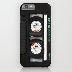 Classic retro sony cassette tape iPhone 4 4s 5 5c, ipod, ipad, tshirt, mugs and pillow case iPhone 6 Slim Case