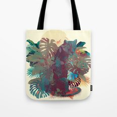 Panther Square Tote Bag