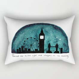 The Road to Neverland Rectangular Pillow