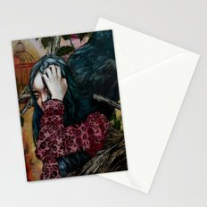 'You can keep me in one of your cages and mock my loss of liberty' Stationery Cards