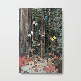 Eat Out Metal Print