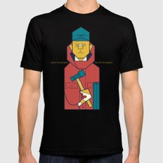 Fargo LARGE Mens Fitted Tee Black