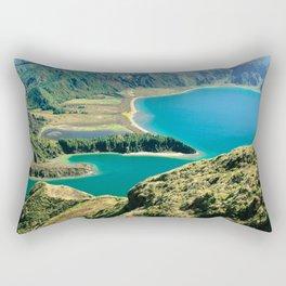Lagoa do Fogo Rectangular Pillow
