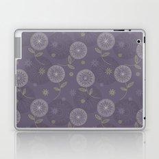 Folky Lace Flowers Laptop & iPad Skin