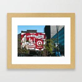 Target Quebec Framed Art Print