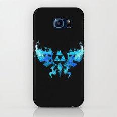 Zelda in Blue Fire Slim Case Galaxy S6