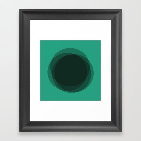 #12 Untitled Framed Art Print