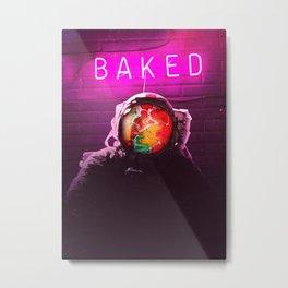 Baked Metal Print