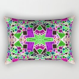 Tate - Created by a Genius (Square/Sym/Gre/Inv) Rectangular Pillow