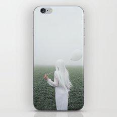 White girl iPhone & iPod Skin