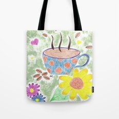Strong cup of coffee Tote Bag