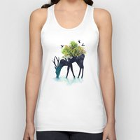 design Tank Tops featuring Watering (A Life Into Itself) by Picomodi