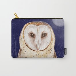Night watch (Tyto alba) Carry-All Pouch