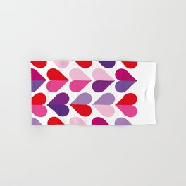 Love and Kisses in Ultra Violet Hand & Bath Towel