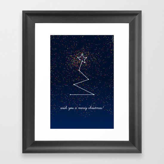 wish tree Framed Art Print