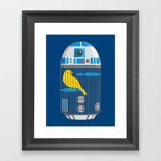 R2 Birdcage Framed Art Print