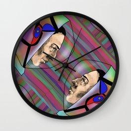 Trippy  Astronaut Wall Clock