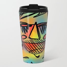 Rainbowman Metal Travel Mug