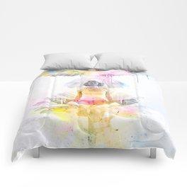 "Animal Spirit "" The Hummingbird "" Comforters"