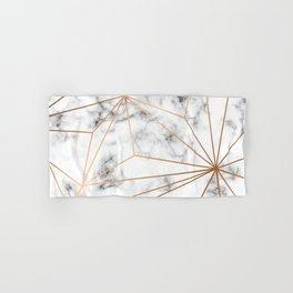 Marble & Gold 046 Hand & Bath Towel