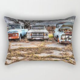 Kicking the Tires 2 Rectangular Pillow