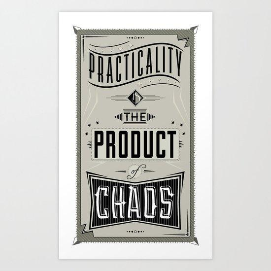 Practicality Art Print
