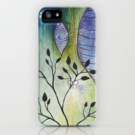 Reflection of Beginnings iPhone Case