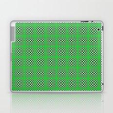 Chequered Green Laptop & iPad Skin