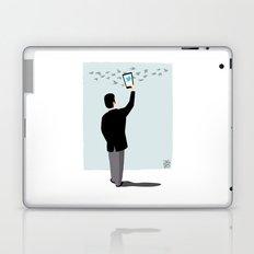 Serial Twitter Laptop & iPad Skin