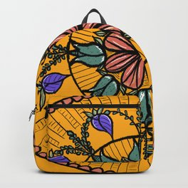 Floral Mandala Backpack