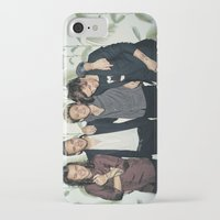 one direction iPhone & iPod Cases featuring One Direction by behindthenoise