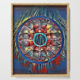 Mandala #5 Serving Tray