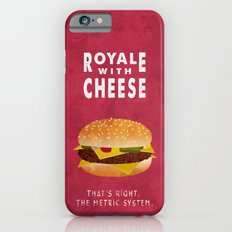 Pulp Fiction - royale with cheese iPhone 6s Slim Case