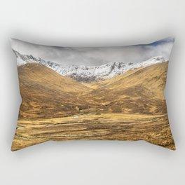 Golden Valley. Rectangular Pillow