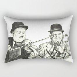Laurel and Hardy Rectangular Pillow
