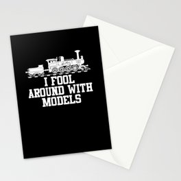 Model Building Railway Stationery Cards